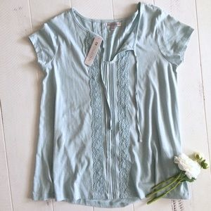 NWT Down East Blue Shirt